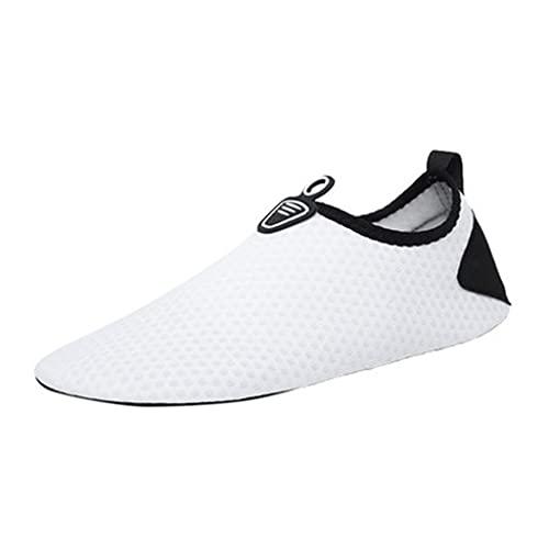 ZZABC SHTAXJWXW Zapatillas de Agua para Hombre para Mujer Calcetines al Aire Libre Calcetines Descalzos Zapatos de Piel para la Playa Corriendo Snorkeling Surfing Buceo Yoga Ejercicio (Size : 36)