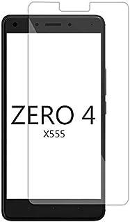 شاشة حماية زجاج مقوي لموبايل انفنيكس X555 زيرو 4-بلون شفاف