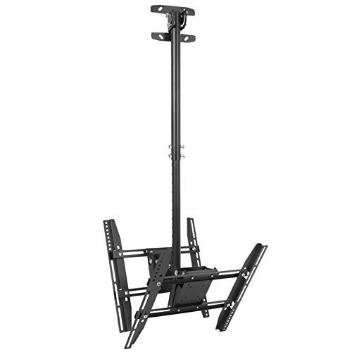 Omabeta Soporte de TV de hierro para TV retráctil de 32 a 65 pulgadas (42,7 x 42,5 x 18 cm)