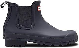 [ハンター] メンズ オリジナル チェルシーブーツ ネイビー MEN'S ORIGINAL CHELSEA navy レインブーツ 長靴
