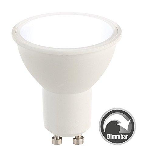 Luminea Lampen LED: LED-Spot GU10, 6 Watt, 480 Lumen, A+, tageslichtweiß 6.500 K (LED-Leuchtmittel GU10 kaltweiß)