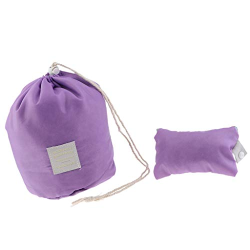 sharprepublic Bolsa de Cubo con Cordón Impermeable, Baño, Artículos de Tocador - Púrpura