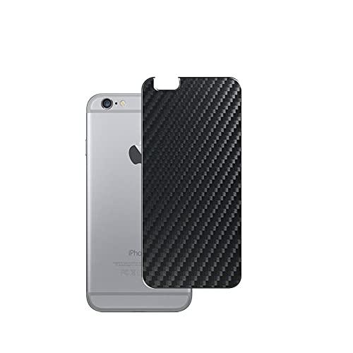 VacFun 2 Piezas Protector de pantalla Posterior, compatible con iphone 6 plus / 6s plus, Película de Trasera de Fibra de carbono negra Skin Piel