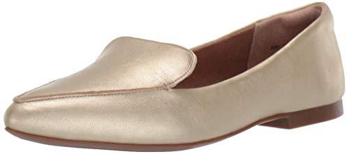 Amazon Essentials Women's Loafer Flat, Gold, 8.5 B US