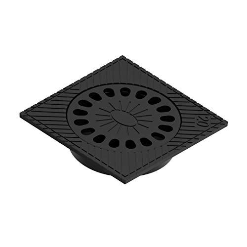 Sumidero terraza hierro fundido 20X20cms negro