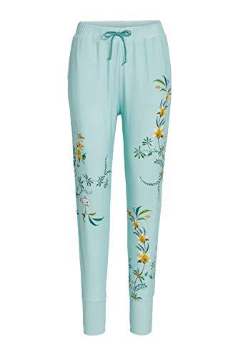 PiP Studio Bobien Grand Fleur Trousers Long Größe 42, Farbe Blue