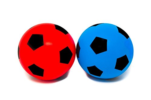 E-Deals - balón de fútbol suave de espuma para interior y exterior,...
