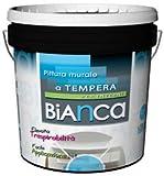 BIANCA Pittura murale extratraspirante FUSTO DA 14 LT COLORE BIANCO