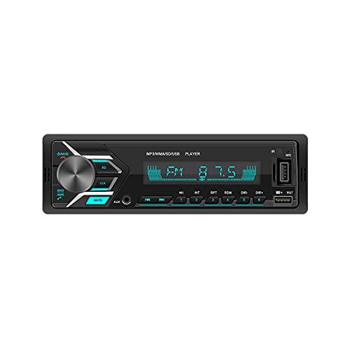 Autorradio Belson BS-2502 de 4x40W   Radio FM con RDS   Conectividad Bluetooth A2DP Compatible Manos Libres   Puerto USB y SD Compatible mp3   Toma AUX IN   Control por App