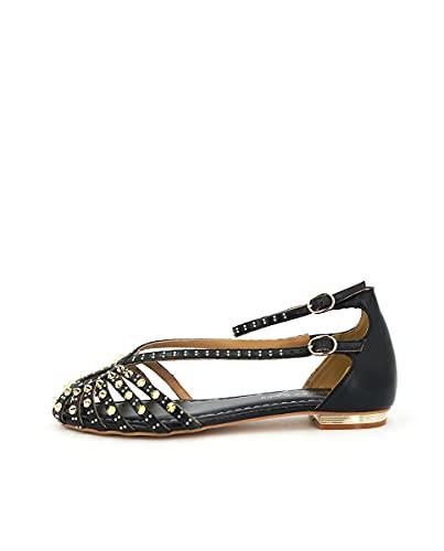 Zapatos Planos de Mujer Alma en Pena Color Negro. V21232 NAPA Black - Talla: 38