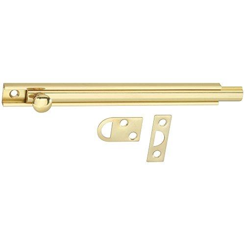 National Hardware N198-010 V1922 Flush Bolt in Solid Brass