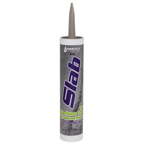 Sashco 16210 Slab Concrete Crack Repair Sealant, Gray, 10.5 Fl. Oz (Pack of 1)
