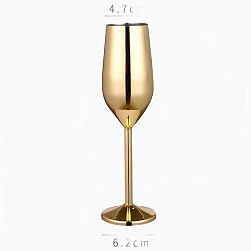 Copas De Champán, Tazas, Regalos Copa De Champán Copa De Vino Copa De Cóctel Copa De Vino De Metal Creativa Bar Restaurante Copa Oro Rosa