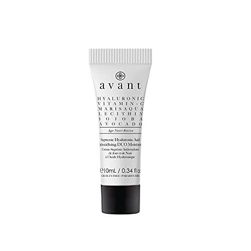 Avant Skincare Hidratante Dúo Ácido Hialurónico Antioxidante, 10 Mililitros