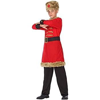 DISBACANAL Disfraz de Ruso para niño - -, 10-12 años: Amazon.es ...