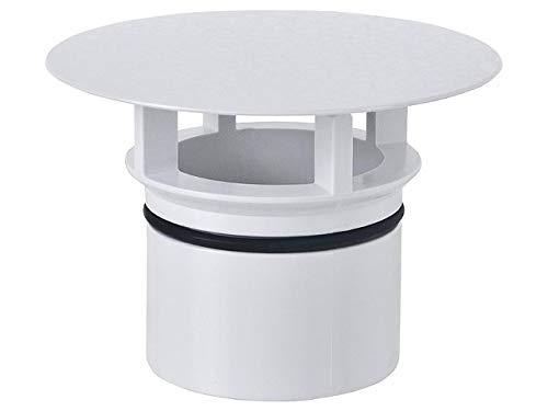 GEBERIT Ventilabdeckung, passend zu Clou- weiss- RAL 9010