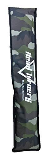 HeadTurners Cricket Foam Padded Bat Cover Camo Print-Full Size