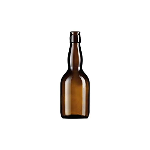 Bottiglia In Vetro Tipo 'Birra Pub' Specifica Per La Conservazione Di Birre Artigianali. Realizzata In Vetro Adatto Per Prodotti Alimentari. Imboccatura Predisposta Per 'Tappo Meccanico' E Anche Per 'Tappo A Corona' Da Ø 29 Mm.