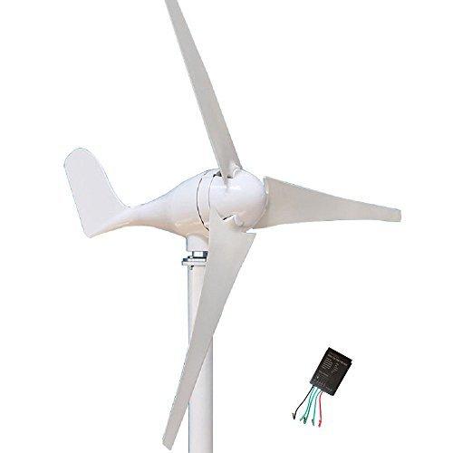 Wind Turbine Generator Kit 400Watt DC12V Indoor Outdoor Using of 3 Blades Marine, RV, Homes,...