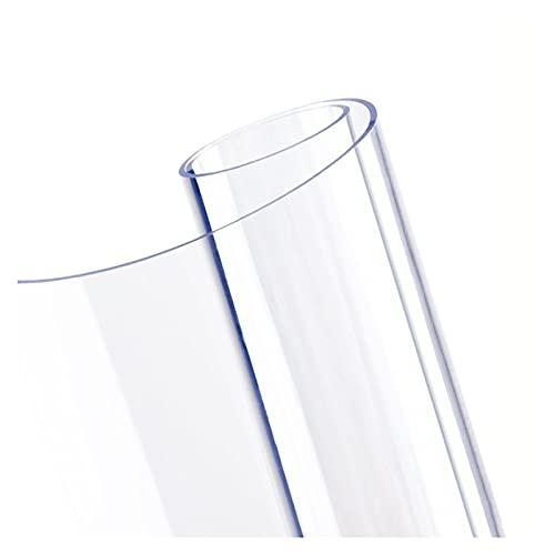 ZWYSL Estera de Protección Suelo Silla Alfombrilla Antideslizante Limpiable Impermeable Alfombrillas Protectoras Transparentes para El Piso de la Oficina (Color : Clear-2mm, Size : 160x230cm)