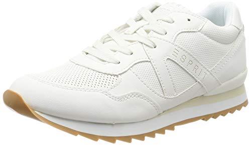 ESPRIT Damen Astro LU Sneaker, Weiß (White 100), 36 EU