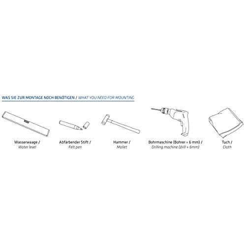 MOCAVI RING 120 Edelstahl-Design-Klingel anthrazit-grau matt RAL 7016 rund (8 cm.) dunkel-grau, Klingeltaster - 3