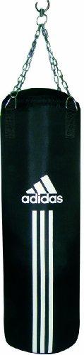 adidas Saco de Boxeo Punching Bag Canvas Type, Negro, 90 x 30 cm, ADIBAC12-90