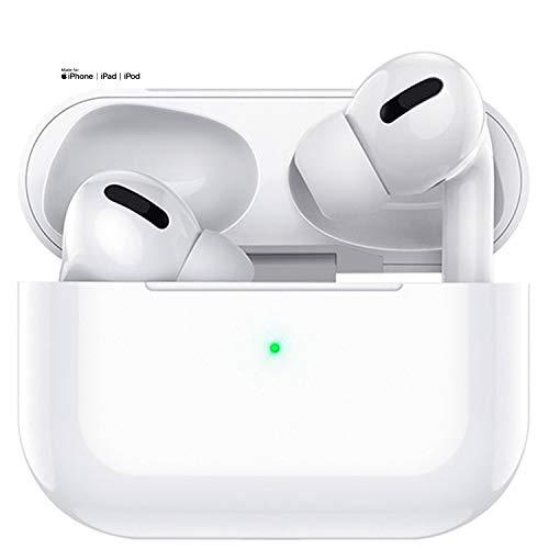 Auriculares Bluetooth 5.0 Auricular Inalámbrico con cancelación de Ruido estéreo 3D HD Control Táctil Auriculares IPX7 Impermeables con micrófono Integrados para Apple Airpods Pro iPhone Android