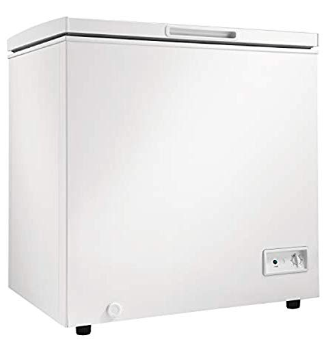 Danby Diplomat DCF035B1WM 3.5 Cu.Ft. Garage Ready Chest Freezer, Manual Defrost and Front-Mount Thermostat, in White
