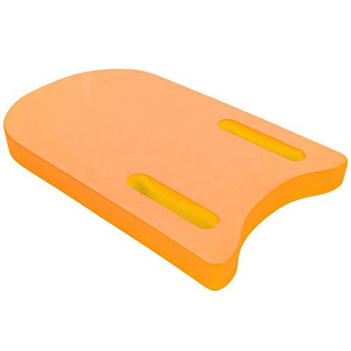 WNSC Accesorio de natación, Tabla Flotante de EVA, Tabla de natación en el Agua, para el Aprendizaje de la Piscina(Naranja)