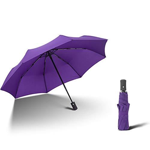 TAOZYY Paraguas Plegable De Viaje Paraguas De Golf, Ligero 8 Costillas Toldo...