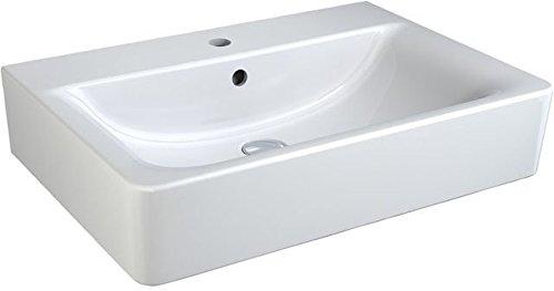 Ideal Standard Connect Cube Waschtisch weiß Ideal Plus; mit 1 Hahnloch, mit Überlauf; 65