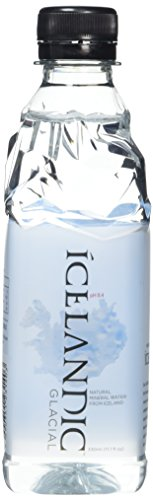 Icelandic Glacial Premium Still Water 330ml Recycled PET Bottles x 30 Per...