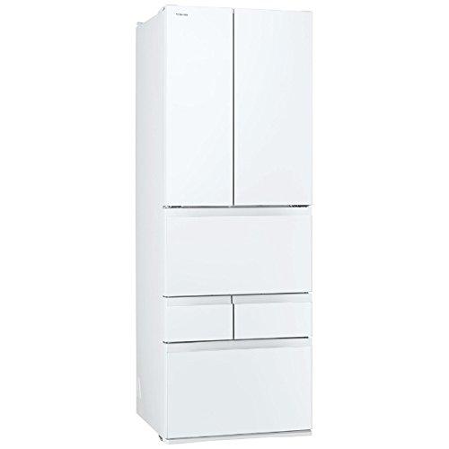 東芝 冷凍冷蔵庫 VEGETA GR-K460FD(ZW) クリアシェルホワイト 462L GR-K460FD(ZW)
