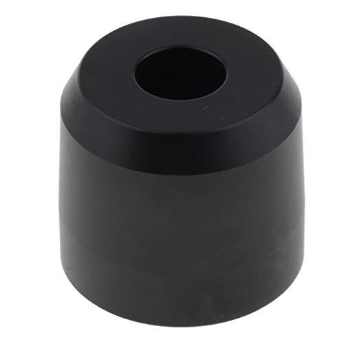 Fenteer Support pour Rasoir Blaireau Brosse Rasage Hommes en Alliage de zinc - Noir