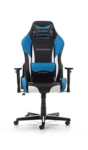 DXRacer Drifting Series Gaming Chair - Black/White/Blue