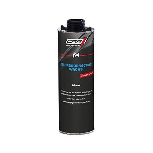 CAR1 Unterbodenschutz Wachs Korrosionsschutz Unterboden Karosserie Sprühdose schwarz 500 ml