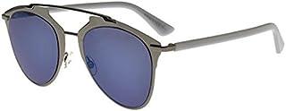 Dior DIOR REFLECTED RUTHENIUM GREY WHITE/GREY BLUE 52/21/140 unisex Sunglasses