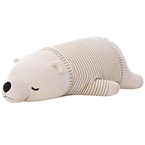 Wenjuan 13.5 Inch Polar Bear Soft Plush Toy Pillow Pet,Stuffed Animal Doll for Child Pet Hugging...