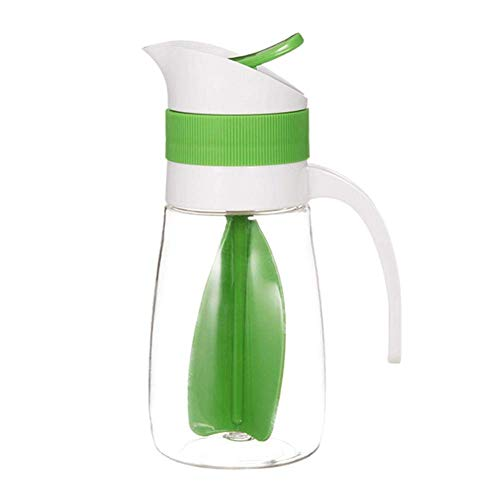 Mezclador de vinagreta, botella de almacenamiento de zumo, emulsiones, salsa, vinagrete, mezclador de vinagreta, botellas de vinagre, verter mezclador de vinagreta para la cocina