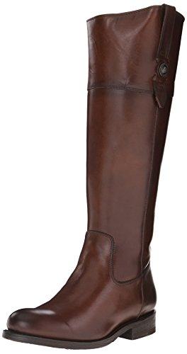 FRYE Women's Jayden Button Tall-SMVLE Riding Boot, Redwood, 6.5 M US