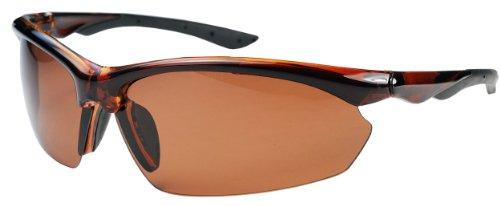 P52 Polarized Super Light Frame Sunglasses for Fishing & Active Lifestyles (Caramel & Copper)