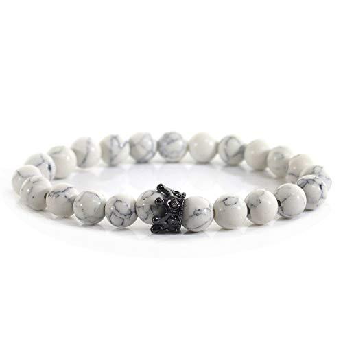 TOUSHI Mode Frosted Stone Bead Armbänder Für Frauen Strass Frauen Armband Handmade Charm Schmuck Für Freund Paar Geschenk