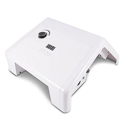 SFLCYGGL 3 en 1 Máquina Pulidora de Uñas Multifunción Secador de Uñas Colector de Polvo de Uñas Manicura Pedicure Colocar, Alta Velocidad y Ruido Bajo