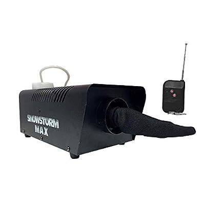 Snowstorm Max 500W Snow Effect Machine inc. Wireless Remote Control