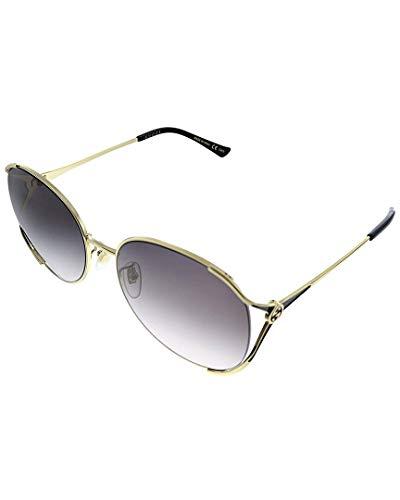 Gucci Occhiali da sole (GG-0650-SK 001) oro – nero opaco – grigio sfumato