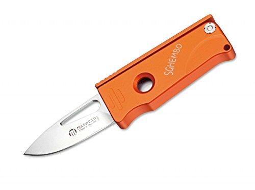 Maserin Messer Sghembo orange 4.5 cm Taschenmesser, M