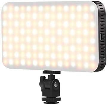 Ordro SL80 LED OnCamera Video Light Dimmable High Power Panel Video Light for Canon Nikon Pentax PanasonicSony Samsung and Olympus Digital SLR Cameras