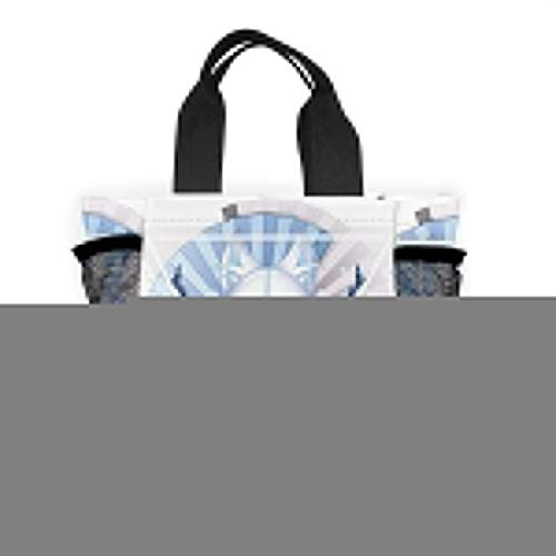 N/A Unisex Lunch Tas Tote - Mascara De Zorro Japones Lunch Container Voor School Office Picnic