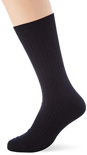 Punto Blanco 1330010 Calcetines Cortos, Negro (Negro 090), 45/46 (Tamaño del Fabricante:12) para Hombre